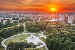 Park   Kaunas aerial