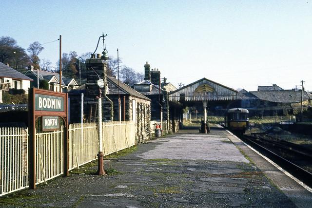Bodmin North - Closed 30 January 1967.