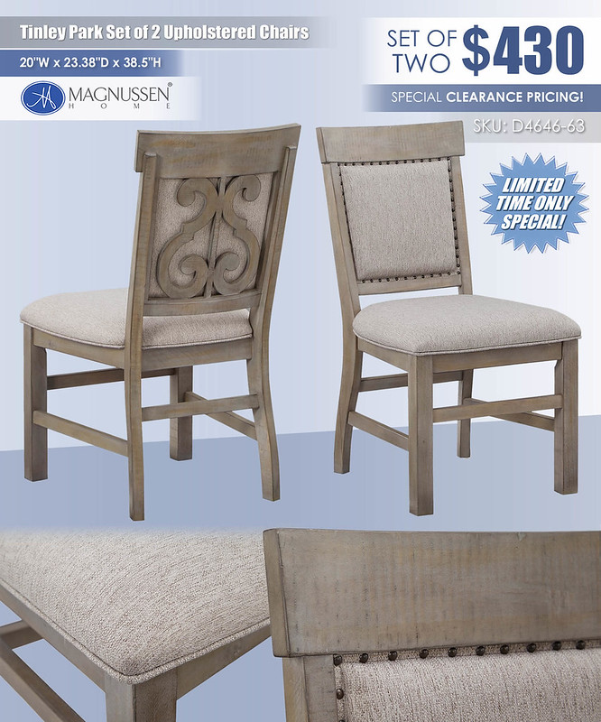 Tinley Park Upholstered Chairs_D4646-63