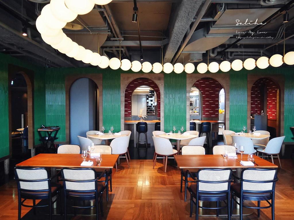 台北米其林餐盤餐廳推薦金普頓大安酒店The Tavernist晚餐台北約會餐廳東區美食餐廳 (1)