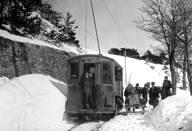 Trains du Rolle Gimel (Suisse)