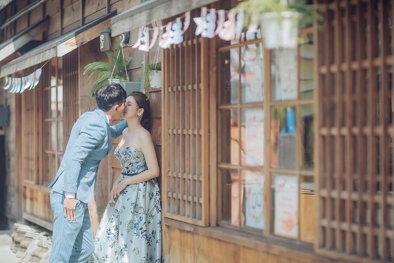 藍曬圖拍婚紗
