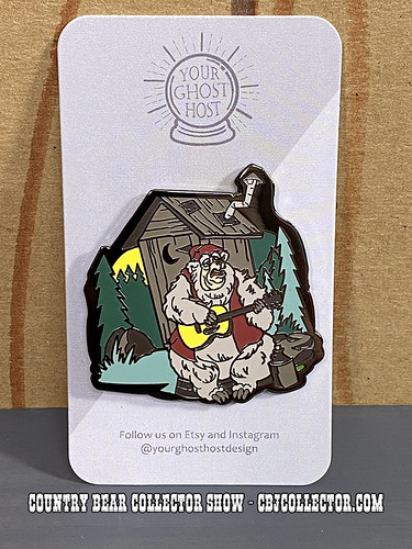 2021 Country Bears At Home Pin Set by @YourGhostHostDesign - CBCS 312