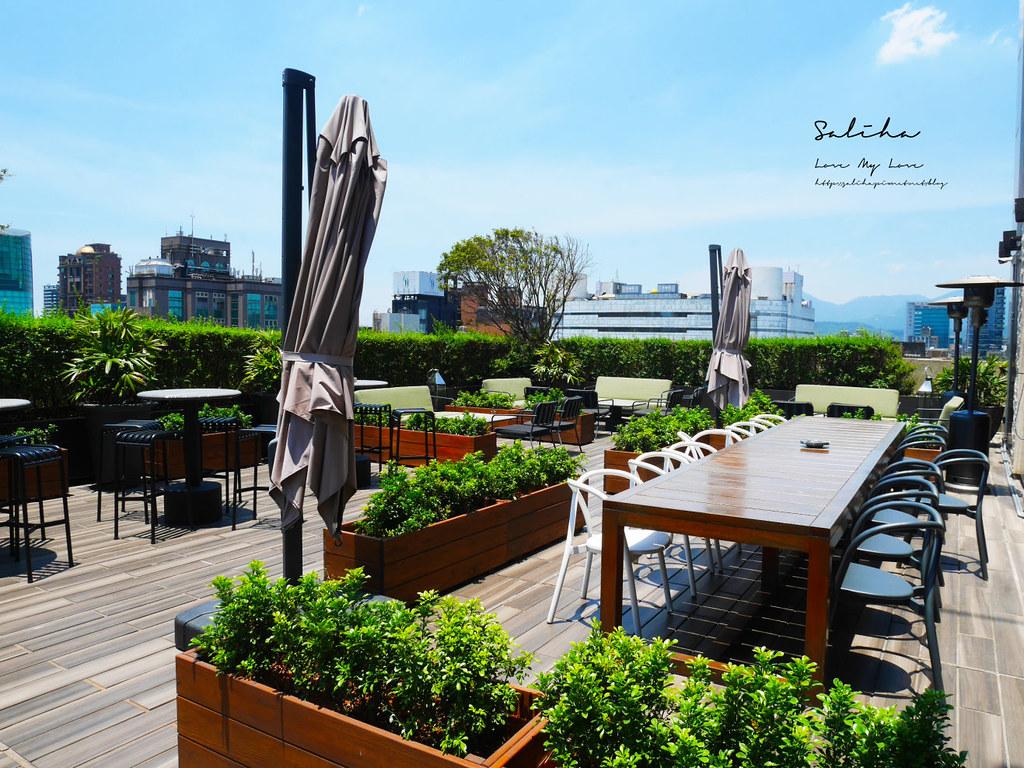 台北景觀餐廳推薦The Tavernist東區空中花園庭園餐廳可看101浪漫氣氛好約會情人節推薦 (1)