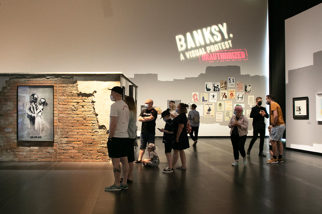 Banksy exhibition