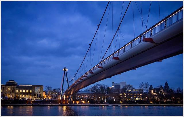 Blue Hour in Frankfurt
