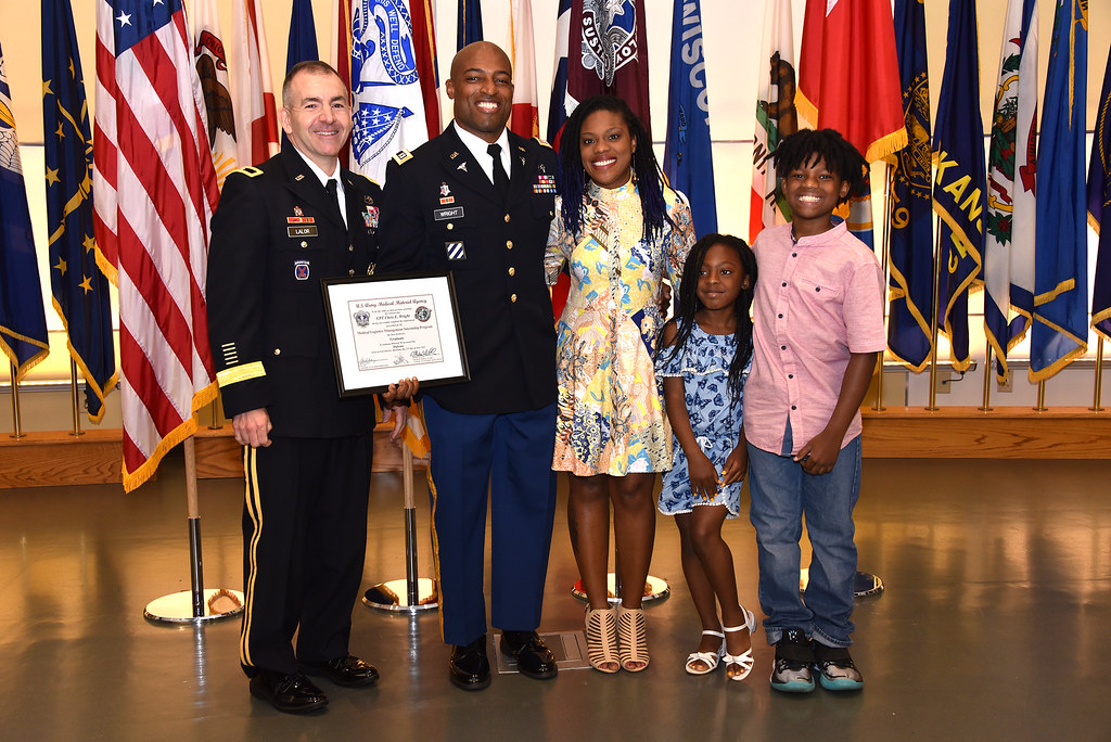 Wright and family with BG Lalor