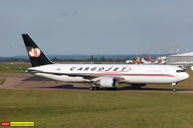 C-GYAJ   Boeing 767-35EERBCF   Cargojet Airways