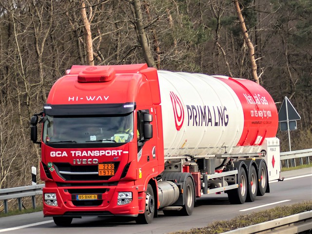 Iveco Stralis, from GCA Transport/ Prima LNG, Holland.