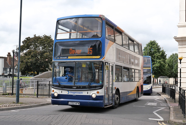 STAGECOACH SOUTH EAST (EAST KENT) 17587 15 CANTERBURY 23/06/2021