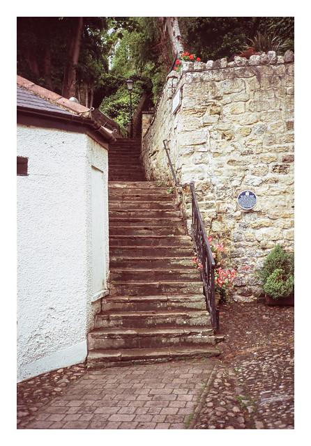 Knaresborough stair