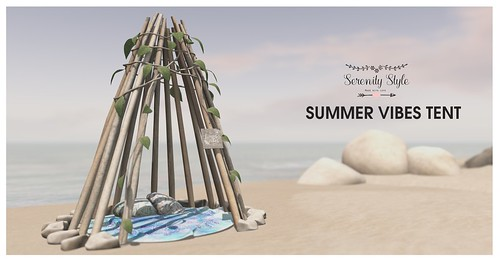 Serenity Style- Summer Vibes Tent
