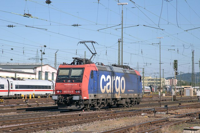 SBB Cargo 482 032 Basel Badischer Bahnhof