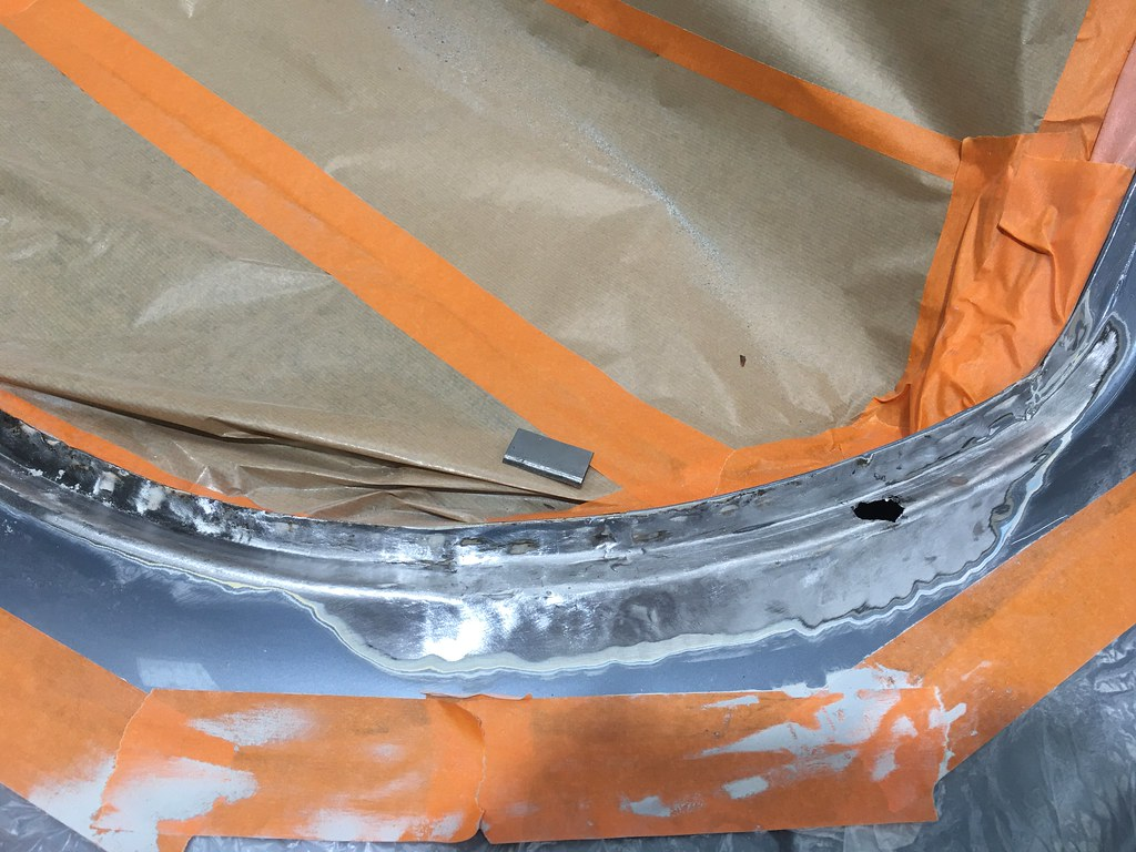 450SLC rear windscreen