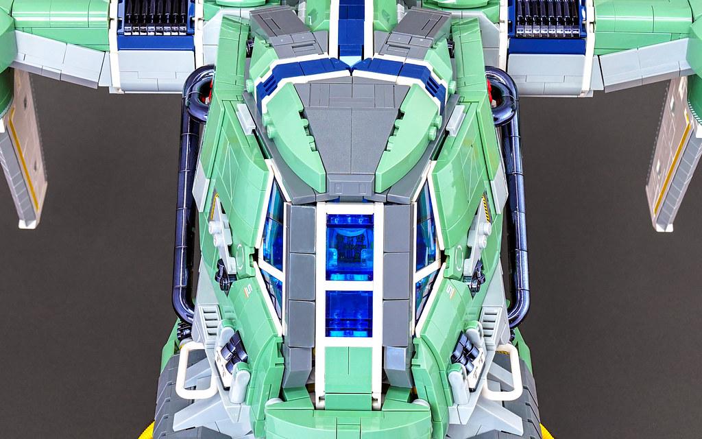 Tachyomatic Combine: Cockpit