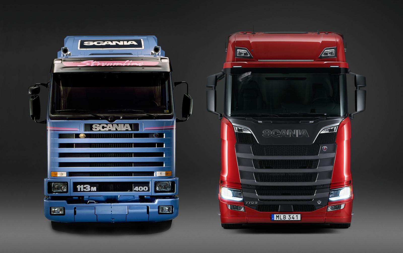 #Keltruck's classic #Scania trucks