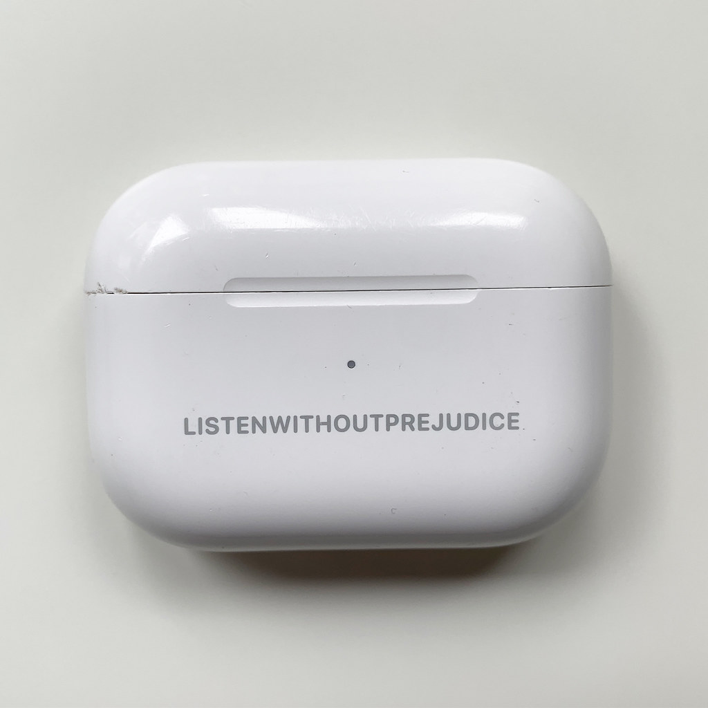 George Michael AirPods