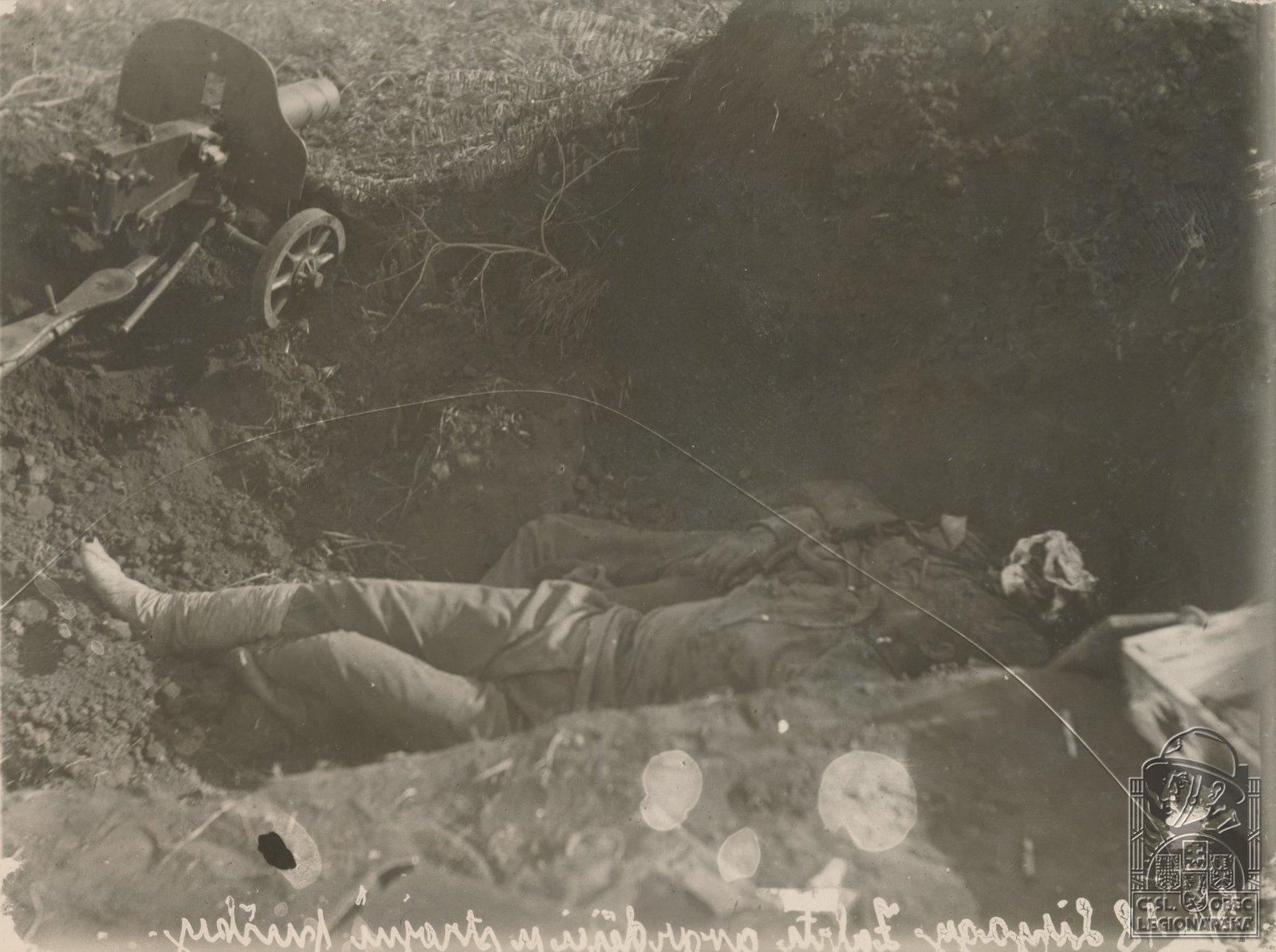 17. 1918. Большевик, погибший под Сызранью