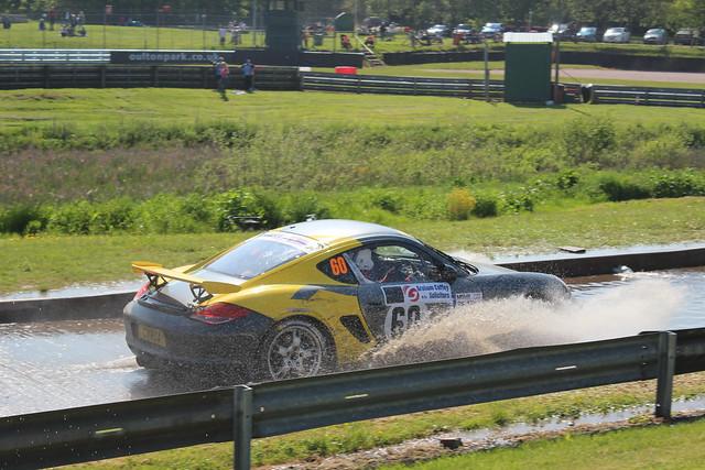 Ciro Carannante & Simon Coates   Porsche Cayman