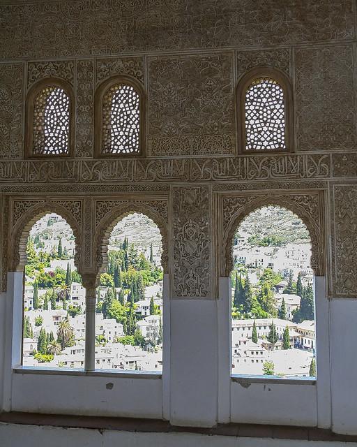 Moorish window art