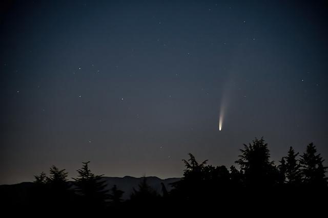 Cometa Neowise: Valeriano Antonini. Sora