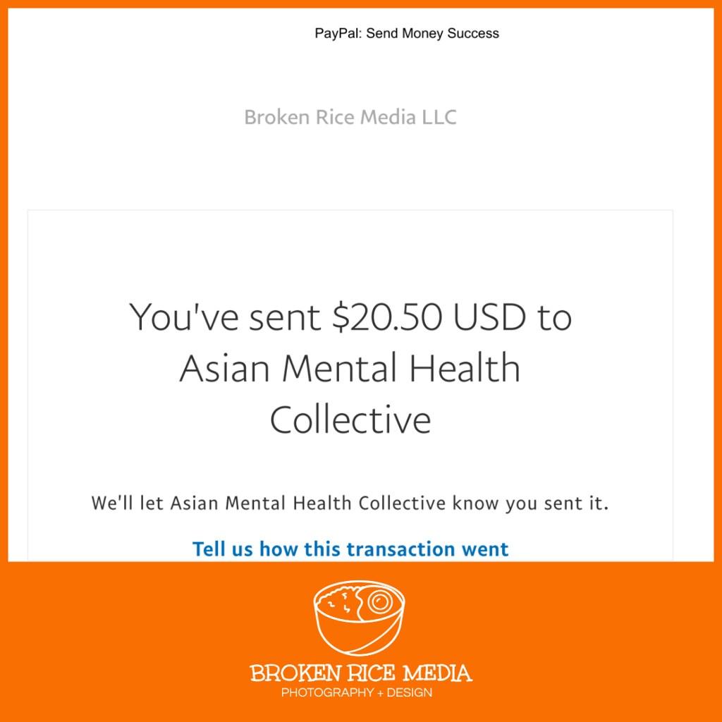 Broken Rice Media LLC Donation