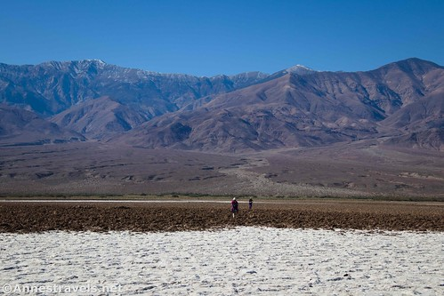 Heading for the western side of Death Valley, California