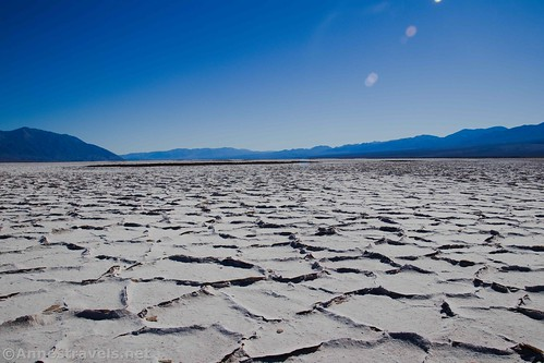 Afternoon on Badwater Flats, Death Valley National Park, California
