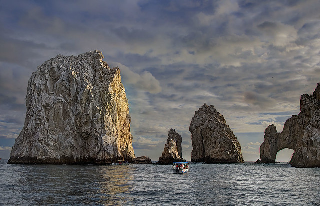 Sentinels of the Sea (with Cabo Arch)