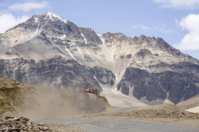 Kicking up the dust - Himachal Pradesh 2011