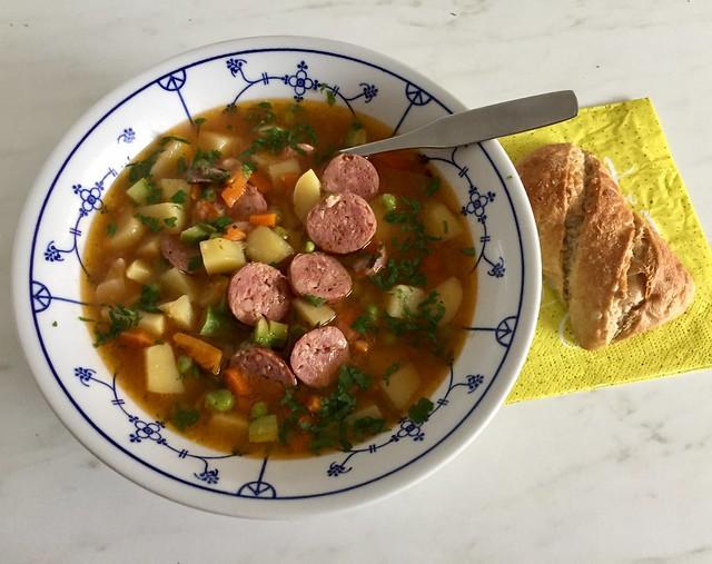 """Feine""""Gemüse- Suppe"""""""