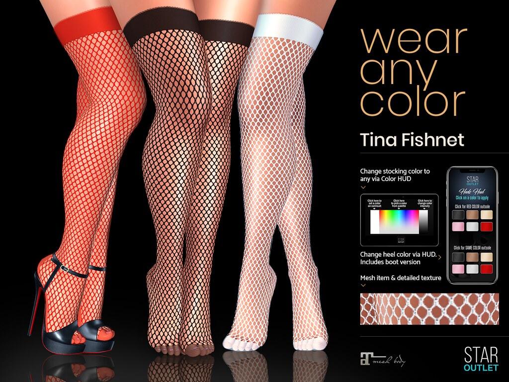 Star Outlet Tina Stocking Fishnet – Maitreya