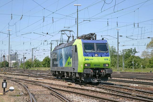 BLS 485 018 Basel Badischer Bahnhof