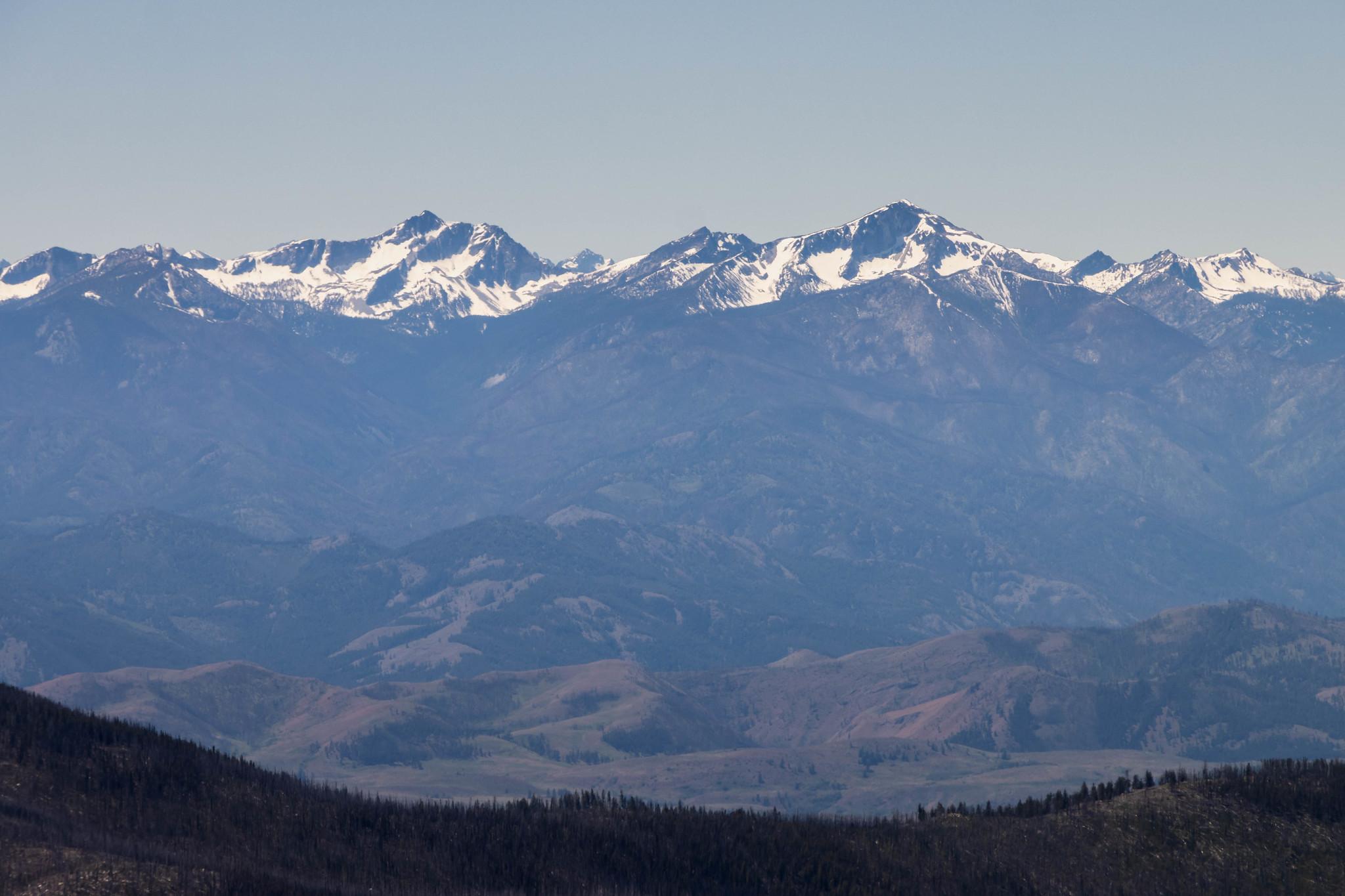 Star Peak, Courtney Peak, Oval Peak
