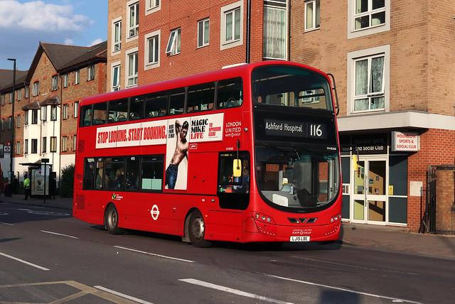 Route 116, London United, VH45148, LJ15LBE