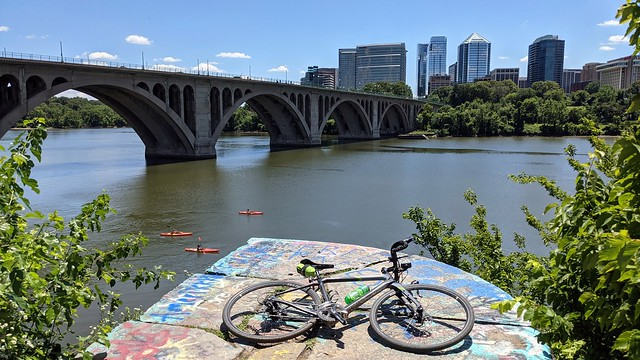 2021 Bike 180: Day 53 - Key Bridge