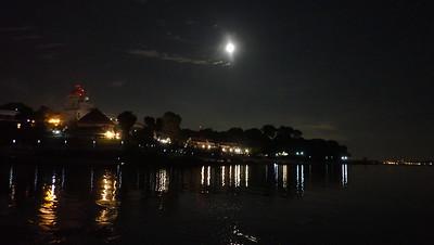 Moon over Changi