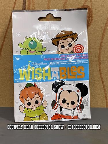 2021 Disney Wishables Henry Pin - CBCS 313