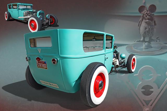 Sewer Rat - 1932 Ford Rat Rod