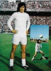 Temporada 1977/78: Guerini, jugador del Real Madrid