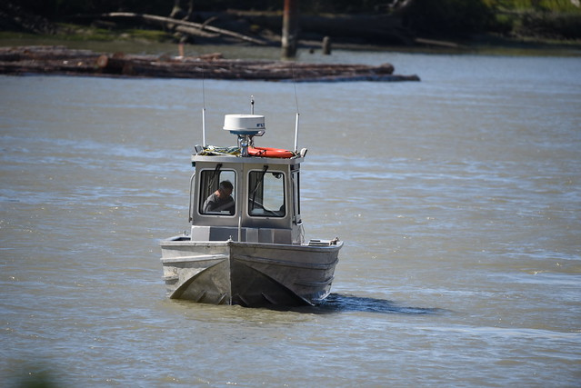 Fishing boat on the Fraser River