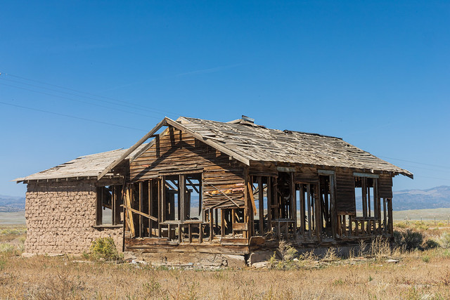 Abandoned Cabin in the San Luis Valley