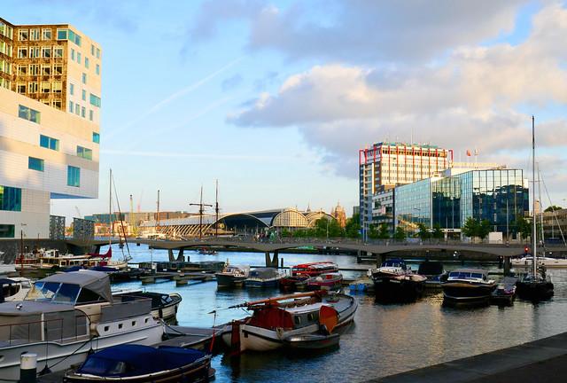 Amsterdam Marina IJdock & riverside