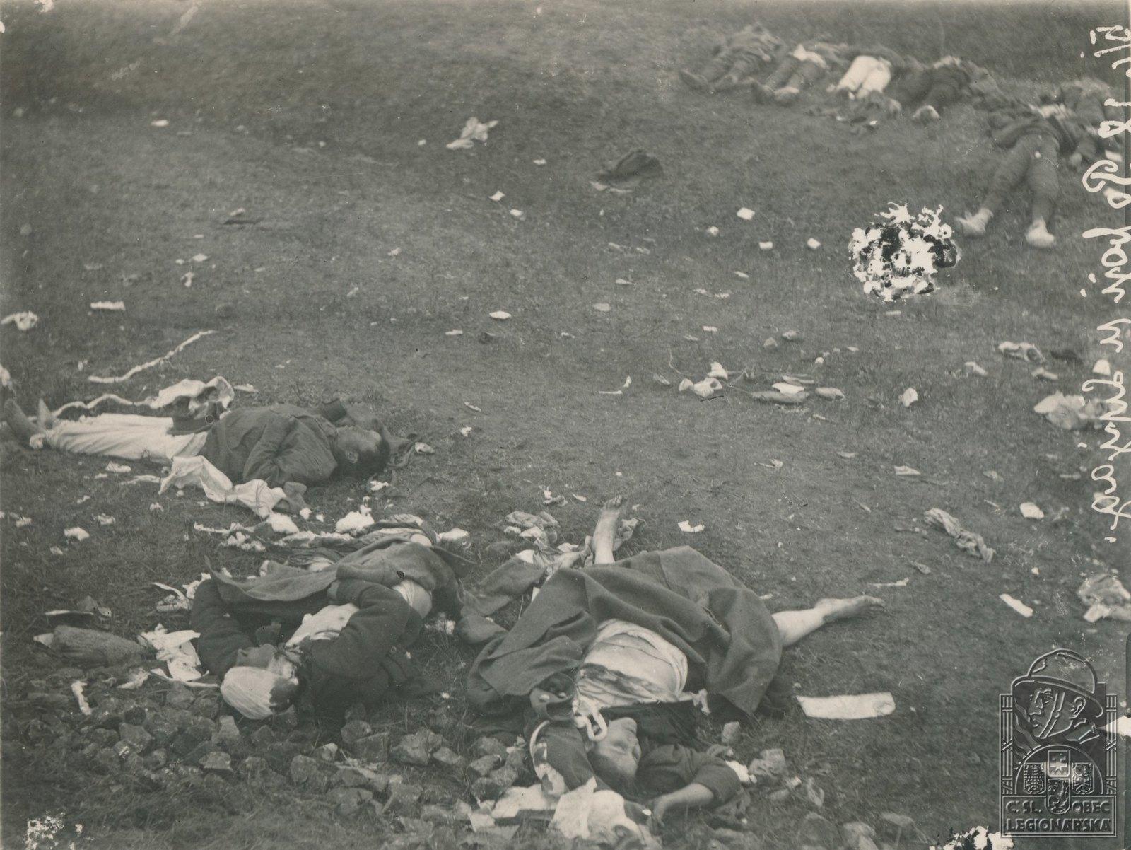 16. 1918. Убитые под Липягами