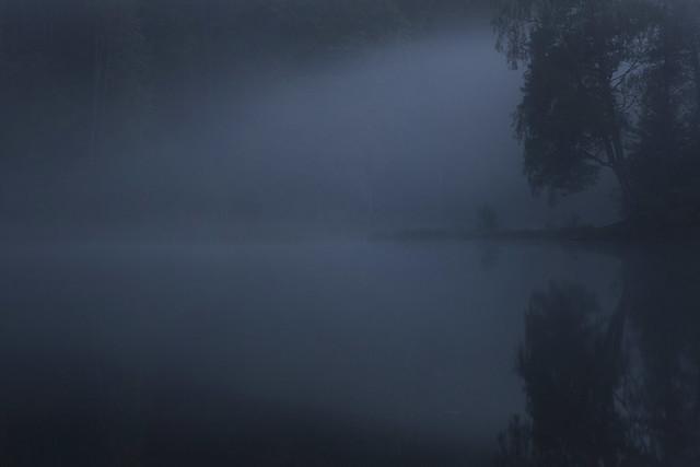 blue lake mystery