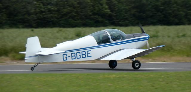 Jodel DR1050 Ambassadeur G-BGBE