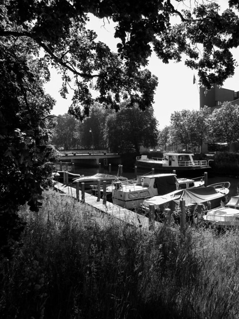 My view on the City Canal III. Zwolle