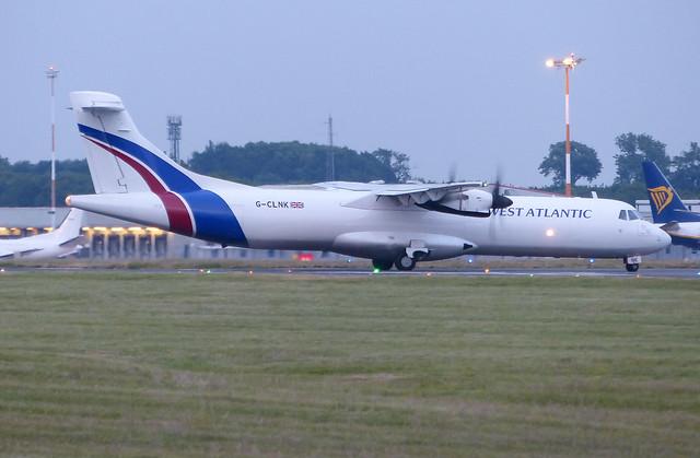 G-CLNK  ATR72-211F