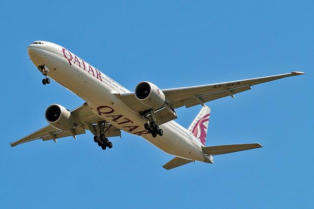 A7-BEA   Boeing 777-3DZER [41779] (Qatar Airways) Home~G 15/07/2014