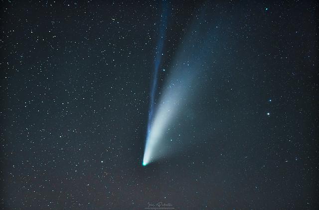 Cometa Neowise: Ivan Pedretti. Sardegna.